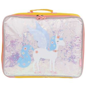 A Little Lovely Company Kuffert - Glitter - Unicorn