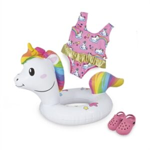 Dolls Swim ring Unicorn, 28-35 cm