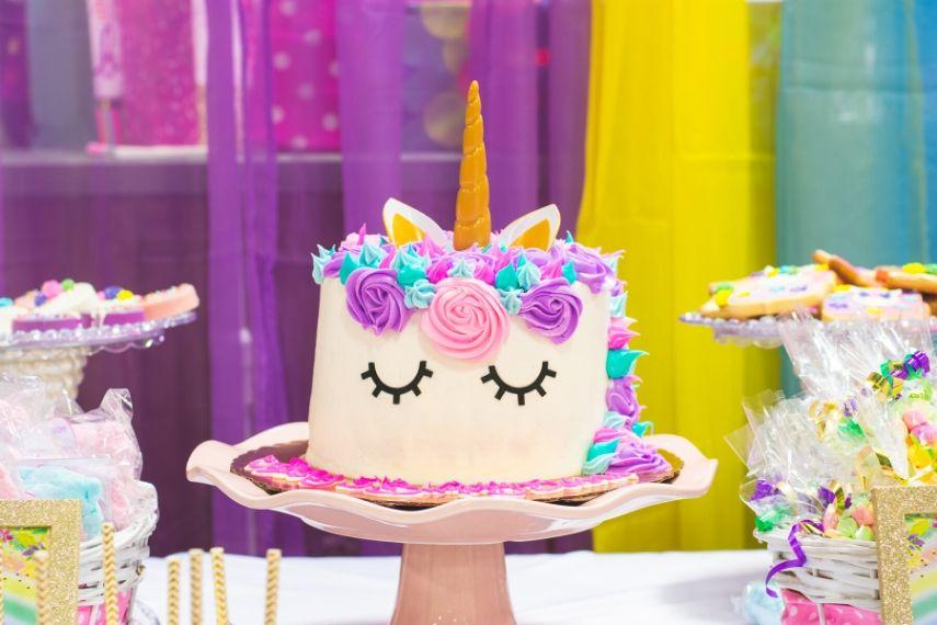 Enhjørninge festtilbehør til fødselsdag