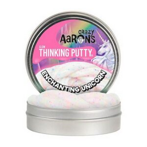 Glow Glitter Thinking Putty Enchanting Unicorn Crazy Aaron