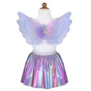 Great Pretenders enhjørning nederdel og vinger - pastel