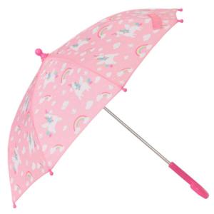 Sass & Belle pink paraply - enhjørning