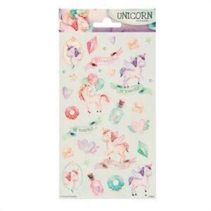 Sticker sheet Twinkle - Unicorns