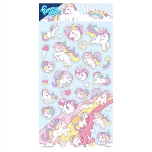 Sticker sheet Unicorn