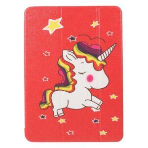 "iPad Pro 11"" Læder Cover m. Tri-fold Stand - Unicorn"