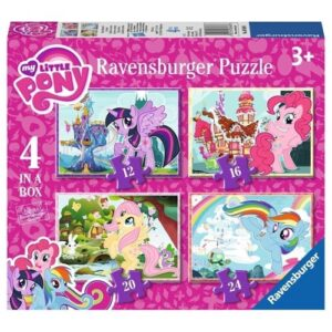 Ravensburger My Little Pony puslespil, 4in1
