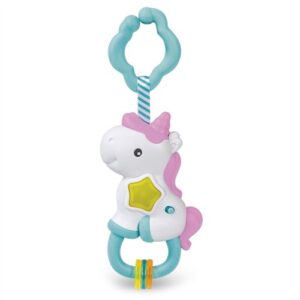 Clementoni Baby - Interactive Unicorn Rattle