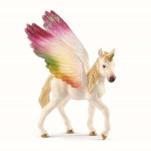 Schleich Bayala regnbue enhjørning føl med vinger